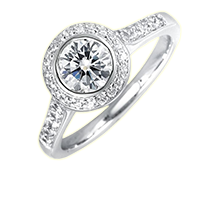 Create your own diamond ring by NisgavDiamonds